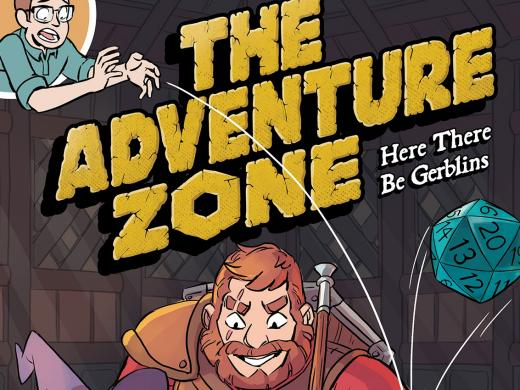 the adventure zone graphic novel live at the taft theatre july
